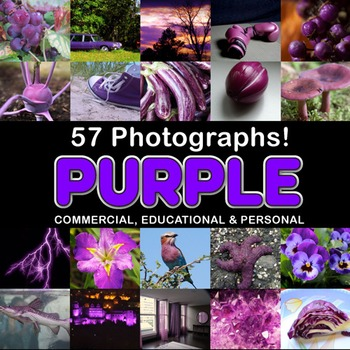 Photos Photographs PURPLE OBJECTS clip art