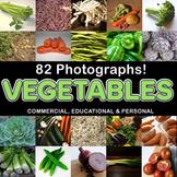 Photos Photographs VEGETABLES, clip art