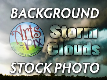 Photograph - Storm Clouds - Background Texture - Photo