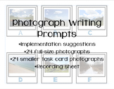 Photograph Writing Prompts - Landscape/Setting Task Cards