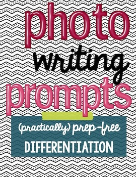 Photograph Writing Prompts | Freebie