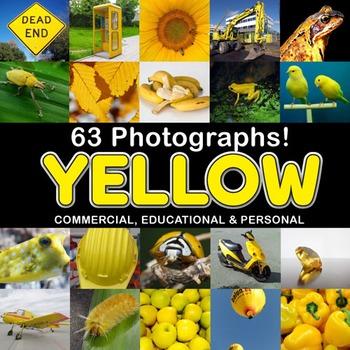 Photos Photographs YELLOW OBJECTS clip art