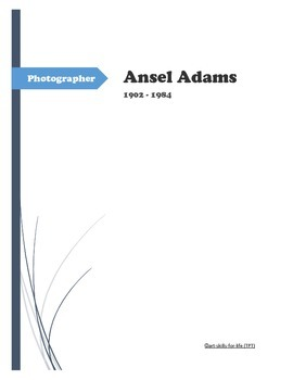 Photographer Ansel Adams - Quiz and Quotes