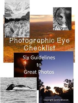 Take Better Photos Checklist