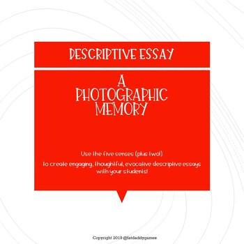 Descriptive essay on a memory