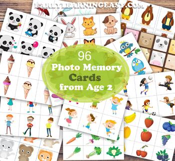 Photographic Memory Development 96 Flash Cards