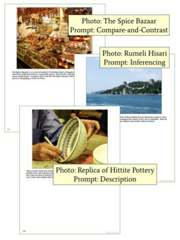 Photographic Writing Prompts for the Byzantine Empire, Ottoman Empire & Turkey