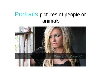 Photographing Portraits Power Point