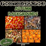 Autumn Backgrounds Photos (BUNDLE)