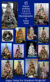Christmas Tree Photographs & Clipart: 15 HAPPY HOLIDAY FREE Download - EnJoY!
