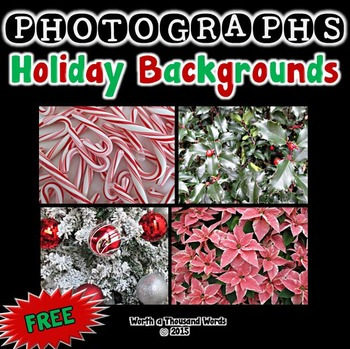 Photographs: Holiday Backgrounds (Free)