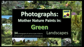 Photographs: LANDSCAPES  Mother Nature Paints in Green
