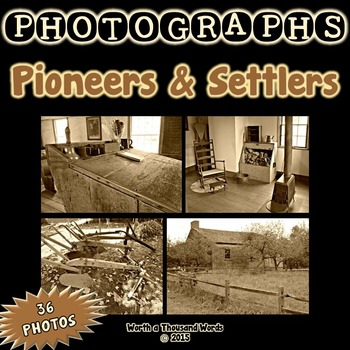 Photos: Pioneers and Settlers - Set A (Sepia)