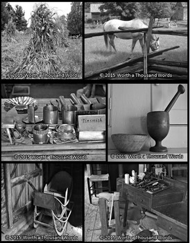 Photos: Pioneers and Settlers - Set B (Black & White)