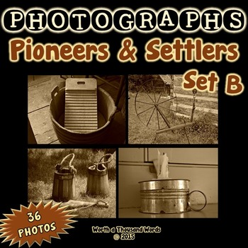 Photos: Pioneers and Settlers - Set B (Sepia)