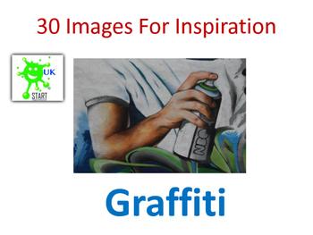 Photographs of Graffiti for Inspiration