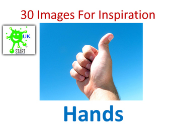 Photographs of Hands for Inspiration