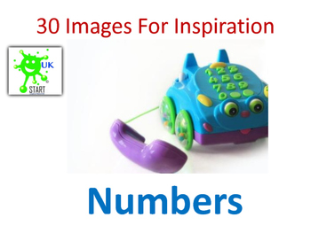 Photographs of numbers in the Real World