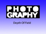 Photography 1: Depth Of Field