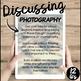 Photography- A Conversation Class