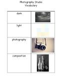 Photography Center Vocabulary