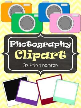 Photography Clipart ~ Cameras and Photos