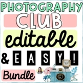 Photography Club Bundle Pack (Editable!)