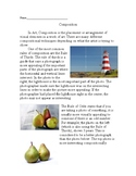 Photography Composition Worksheet and Questions
