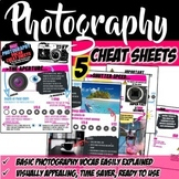 """Photography Intro """"Cheat Sheets"""""""