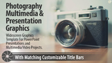 """""""Cambridge"""" Photography PowerPoint Template and Multimedia Graphics"""