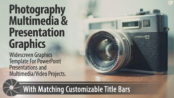"""Cambridge"" Photography PowerPoint Template and Multimedia Graphics"