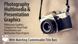 """""""Champagne"""" Photography PowerPoint Template and Multimedia Graphics"""