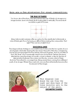 Photography Primer for Young Adults