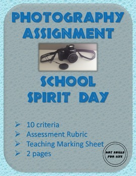 Photography - School Spirit Day Assignment