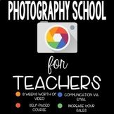 Photography E-Course! 8 week video course