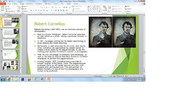 Photography Self Portrait Powerpoint