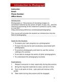 Photography Syllabus (DOC)