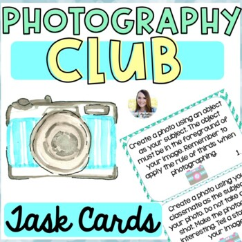 Photography Task Cards