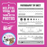Photography Tip Sheet
