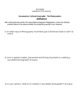 Unit 2: Careers in Photography