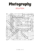 Photography Word Search Puzzle