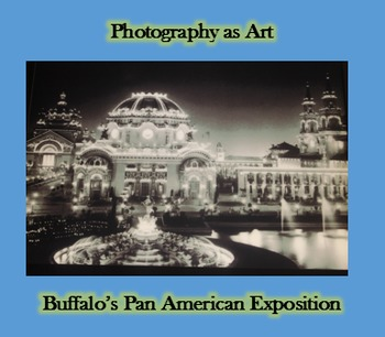 Photography as Art -Pan American Expo- Art History  - QR Code