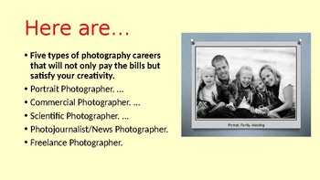 Photography as a Business