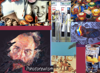 Photorealism Painting in Art History - FREE POSTER