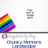Photos: Chunky Markers