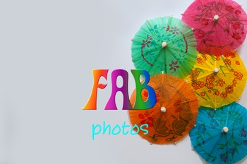 Photos - Colored Background - Mini Party Umbrellas
