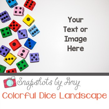 Photos: Colorful Dice