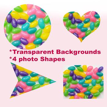 Photos: Jelly Bean Stock Photos in Shapes