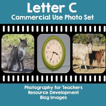 Photos: Letter C {cat, clock, cow}