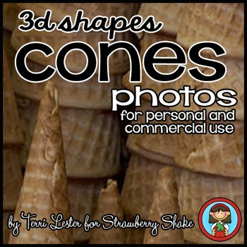 Photos Photographs CONES! Real Solid Shapes personal or commercial use